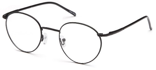 Mens Oval Glasses Frames Black Prescription Eyeglasses - Prescriptions Online Glasses