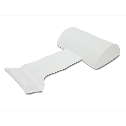 - California Sun Deluxe Weighted Super Soft Spa Pillow Cushion - White