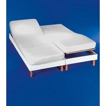 Sábana bajera ajustable para camas dobles articuladas 180 x 190/200.