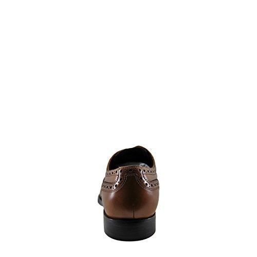 Kenneth Cole Designen 10521 Mens Läder Oxford Cognac