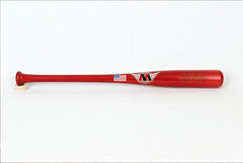 M^POWERED BASEBALL Big Drop Youth Wood Baseball Bat, 5-8 Drop, Maple, 26'' Bat, 2.5'' Barrel, 24oz, Grey (BDYM-26) by M^POWERED BASEBALL