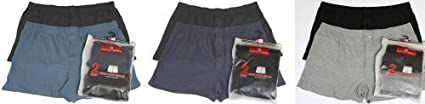 COTTON VALLEY TWO PACK BOXER SHORTS