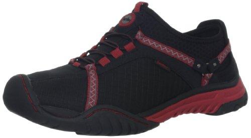 Jambu Dames Bianca Sneaker Zwart / Diep Rood