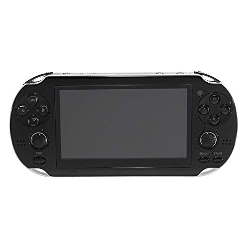 4.3 Inch Portable Handheld Game Console Player 300 Game Video Camera - Video Games Console Handheld Game Console - (Black) -, 1 x Handheld Game Console
