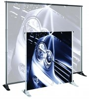 Testrite Visual Products JN5 Grand Format Banner Stands by TestriteVisualProducts