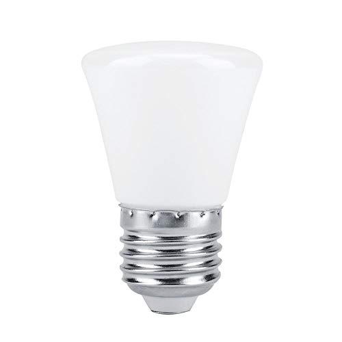 (Yosooo 5 Pcs RGB Smart Bulb, E27 AC150-250V 3W RGB LED Light Bulb Colorful Smart Lamp Bulbs for Christmas Festival Lighting(Flat Head))
