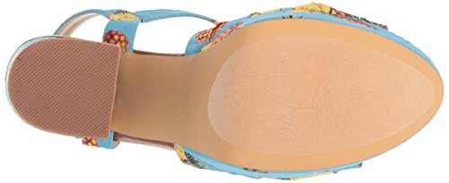 Penny Loves Kenny Women's Scat Platform, Blue Pineapple, 6.5 Medium US by Penny Loves Kenny (Image #3)