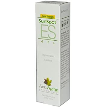 Lane Labs AntiAging Physician SunSpot ES Gel - 0. 5 oz Udderly Smooth Cream-2oz