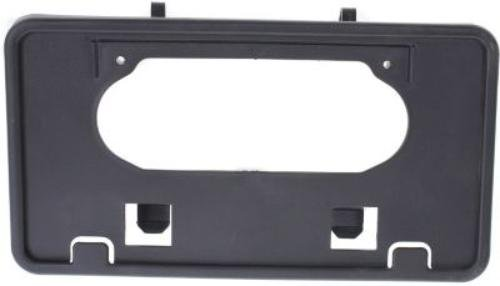 CPP Front Black License Plate Bracket for 2009-2014 Ford F-150 FO1068134