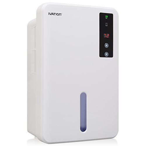 Ivation IVADM20 Thermo Electric Intelligent Dehumidifier