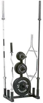 Olympic Plate and Bar Holder by Gill Athletics