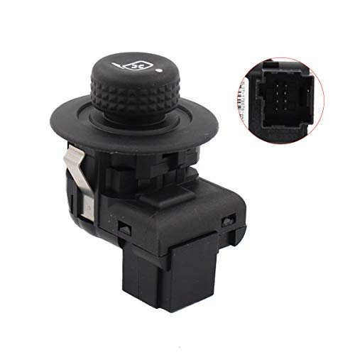 - NewYall Front Left Driver Side Power Door Mirror Control Switch Lever Knob