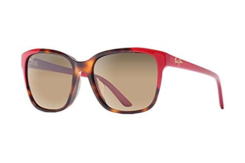 Maui Jim Women's Moonbow Tortoise/Red/Hcl Bronze One Size
