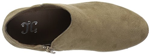 Brinley Co Womens Flare Stivaletto Taupe