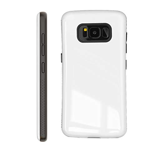 Samsung Galaxy S8 Case | Premium Luxury Design | Military Grade 15ft. Drop Tested | Wireless Charging | Compatible with Samsung Galaxy S8 - White