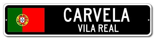 Portugal Flag Sign - CARVELA, VILA REAL - Portuguese Custom Flag Sign - 6