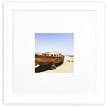golden state art smartphone instagram frames collection 8x8 inch square photo wood frame - White Square Frames