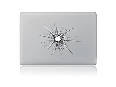 BNASA Ordenador Portátil Creative Macbook Laptop Logo Film de Protección Sticiker Decal para Pro 15.4""