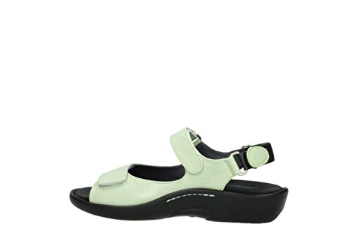 30750 Wolky Lime Leather Pichu Women's aTqxqvEY