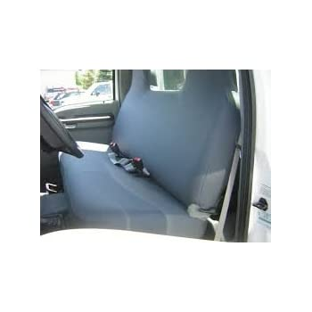 Durafit Seat Covers Charcoal 1999 2007 Ford F250 F550 Truck Front Solid Bench Exact Fit Custom Gray Endura F236 C8