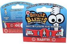 Beware Bandits Allergy Awareness Band Diabetes