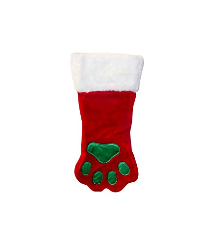 (Outward Hound Kyjen  PP01767  Christmas Paw Stocking Dog Stocking Holiday Pet Accessory, Small, Red)