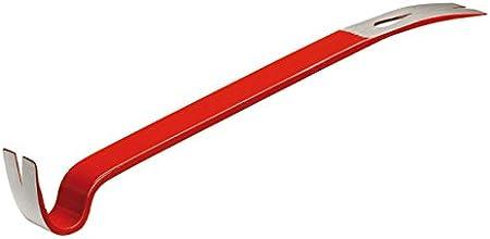 Hultafors 827023 Barra plana de acero saca clavos y multiuso de 190 mm