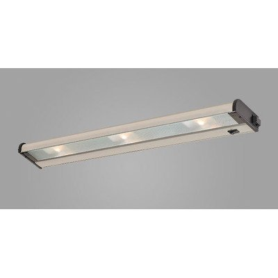 New Counter Attack Three Light Under Cabinet Light Finish: Stainless Steel ()