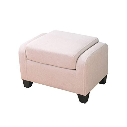 Amazon.com: WXL Sofá taburete de tela cuadrada suave asiento ...