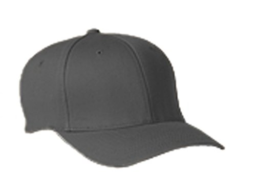 Flexfit 6277 Wooly Combed Twill Cap - Small/Medium (Dark Gray)