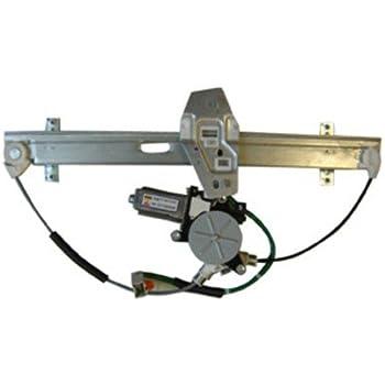 Fits 03-07 Taurus//Mercury Sable Left Driver Rear Door Windows Motor /& Regulator