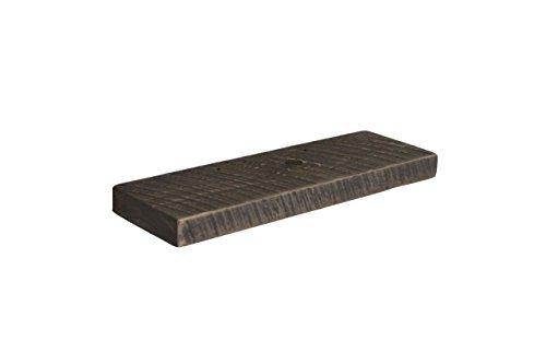 Joel's Antiques & Reclaimed Decor Floating Shelf, Rustic Shelves, Open Shelving, Pine, 2'' x 8'' x 24'', Weathered Wood, Gray by Joel's Antiques & Reclaimed Decor