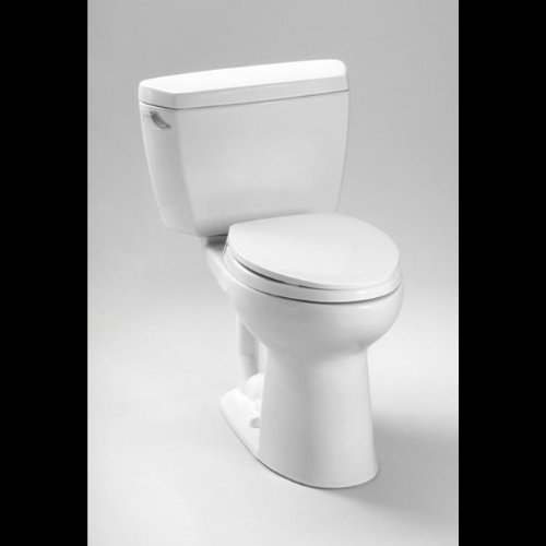 - TOTO CST744SLD#03 Drake Elongated Toilet, 1.6 GPF with Insulated Tank and Bolt Down Lid, Bone