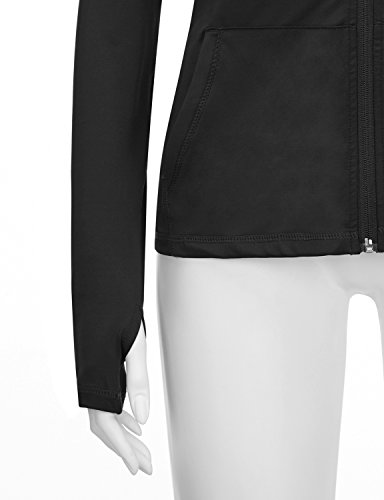 Regna X Re Order Bother Women's Active Lightweight Full Zip Hooded Jacket (28 Colors, S 3X)
