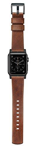 Nomad Horween Leather Strap (Modern) Apple Watch 42mm Black