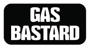 (3) Gas Bastard Funny Hard Hat / Helmet Vinyl Decal Sticker