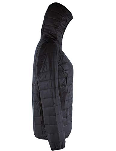 Autunno Piumini Slim Manica Outwear Eleganti Schwarz Donna Piumino Incappucciato Marca Packable Mode Di Invernali Fit Giacca Ultralight Trapuntata Moda Lunga Casual YEIwq