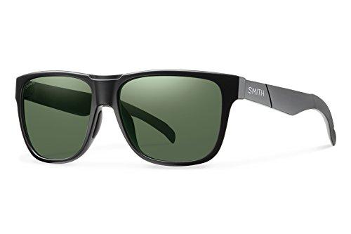 Smith Optics Lowdown Chromapop Polarized Sunglasses, Matte Black, Gray Green