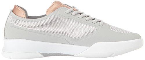 Lacoste Women's Spirit Elite 117 2 Fashion Sneaker, Light Grey, 8 M US