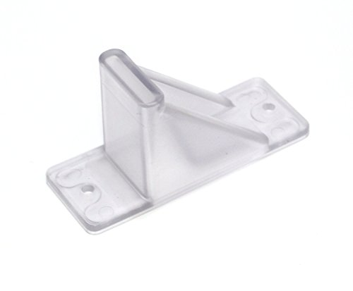 Plastic Roof Ice Guard Mini Snow Guard (100 Pack)Prevent Sliding Snow Ice Buildup-Acrylic by JSP Manufacturing (Image #1)
