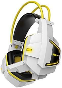 ゲーミングヘッドセット、PS4 N7ステレオXbox Oneヘッドフォン、PC/MAC / PS4 / Xbox 1用のイヤーゲーミングヘッドセットの上に、ノイズキャンセリングマ