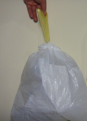 S.A.C DB8010-12 Plastic Incontinence Disposal Bag, 16'' Length x 16'' Width, Opaque (Pack of 12)