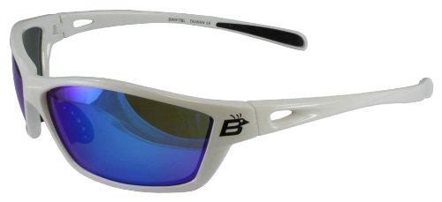 Birdz Eyewear Swift Sunglasses (White Frame/Blue Revo - Sunglasses Birdz