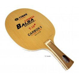 YinHe T-10 Table Tennis Blade, Handle-Flared