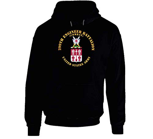 LARGE - Army - Coa - 299th Engineer Battalion (combat) Hoodie - ()