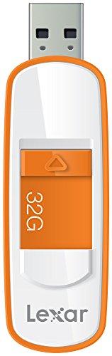 Lexar JumpDrive S75 32GB USB 3.0 Flash Drive - LJDS75-32GABNL (Orange) ()