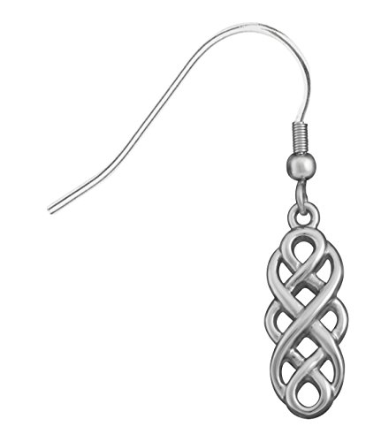 Celtic Unity Knot Earrings Collectible Jewelry Accessory Dangles Tribe ()