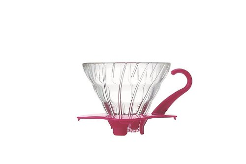 Pink Espresso Coffee Makers (Hario V60 Glass Coffee Dripper (Size 01, Pink))
