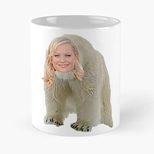 Amy Poehler Animals Parks And Rec Recreation - Funny Coffee Mug, Gag Gift Poop Fun Mugs