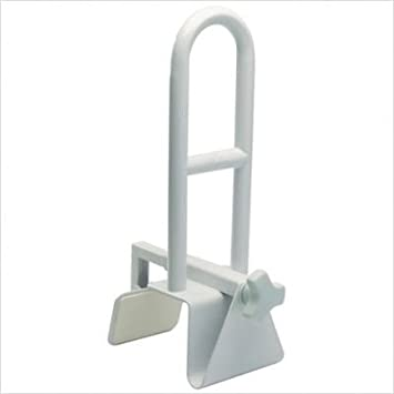 Secure BBTGB 1 Bathtub Grab Bar Bathroom Safety Rail, White   Durable  Powder Coated